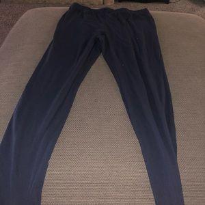 Navy blue leggings